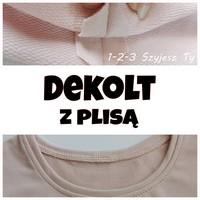 dekolt-z-plisa